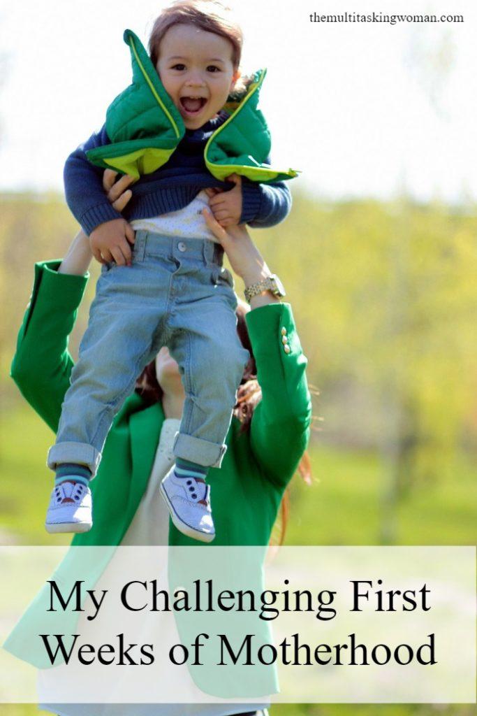 My challenging first weeks of motherhood