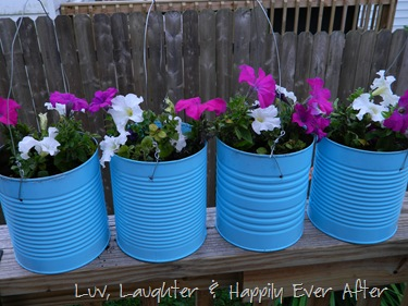 formula tin flower pots