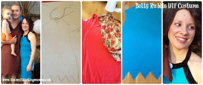 Betty Rubble DIY Costume The Flintstones