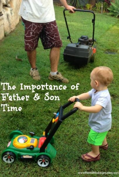 importance of father son time