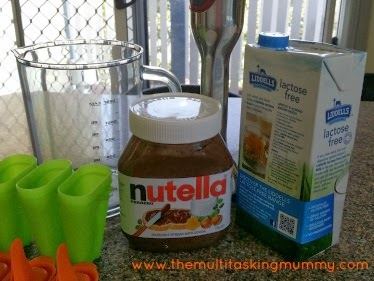 nutella ice block recipe