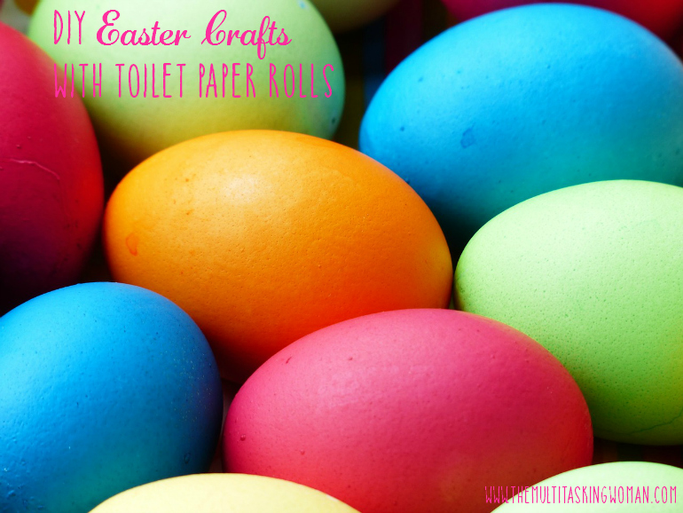 DIY Easter Crafts with Toilet Paper Rolls Pin