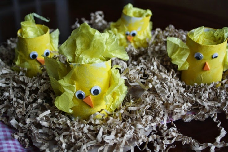 toilet-roll-easter-chicks
