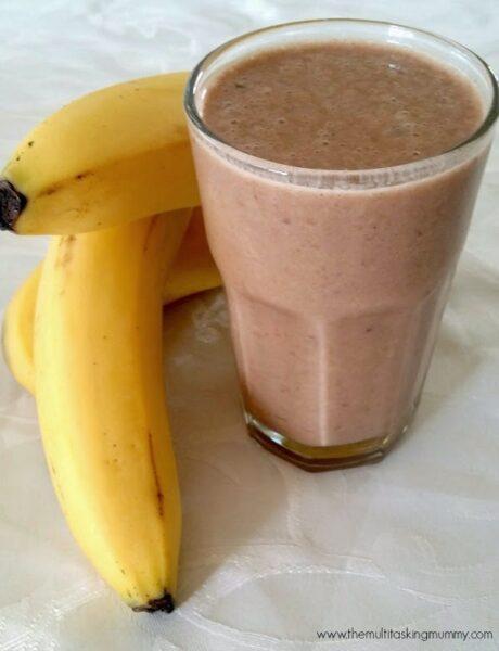 choc banana smoothie dairy free