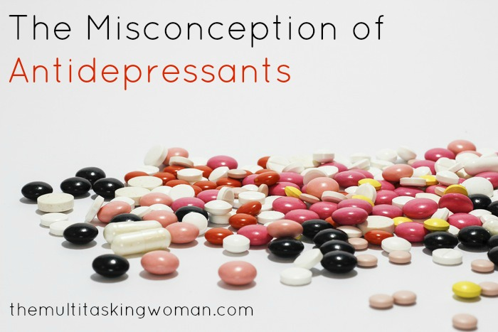 misconception-antidepressants