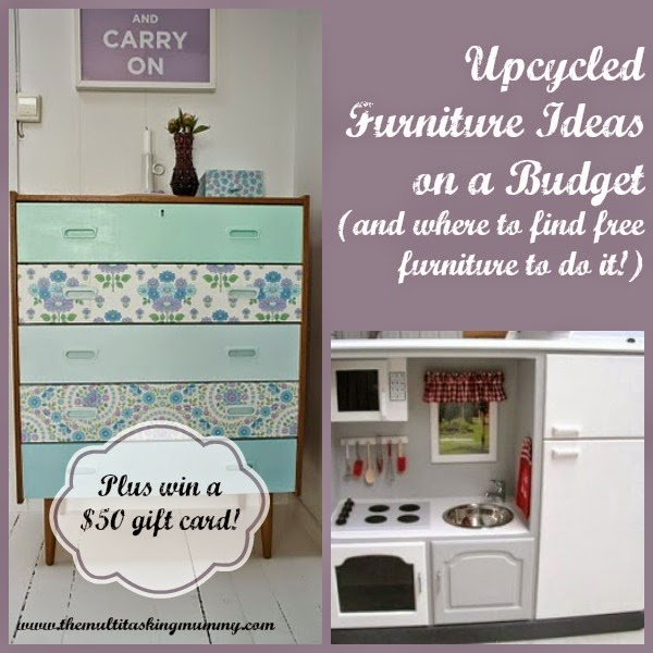 Upcycled Furniture Ideas on a Bud Giveaway The