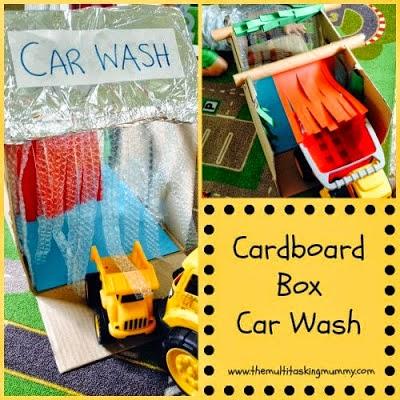 cardboard box car wash