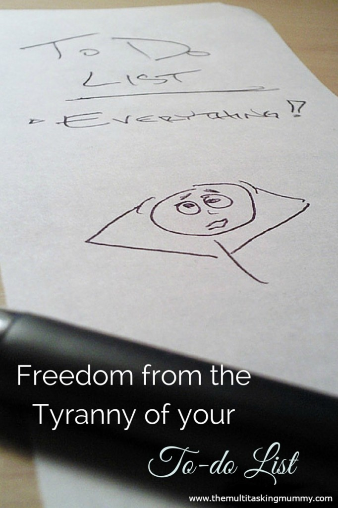 Freedom from the tyranny of your to-do list (2)