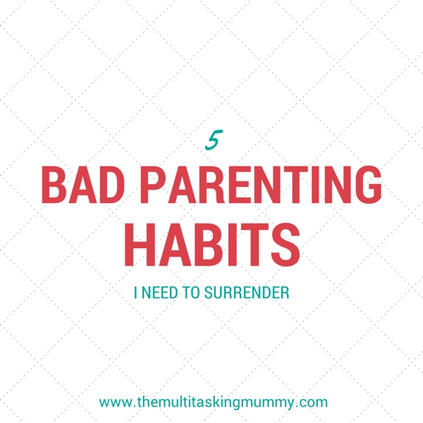 bad parenting habits