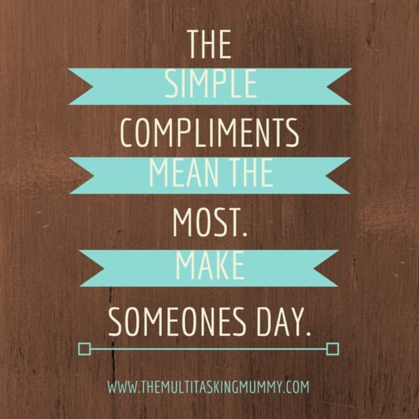 simple compliments
