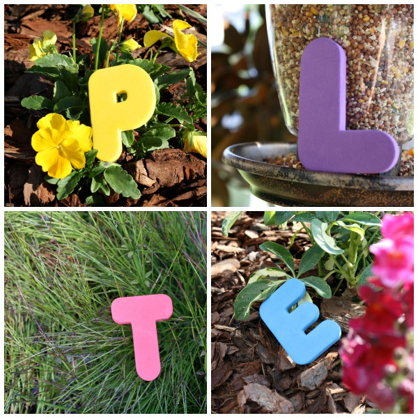 alphabet garden hunt