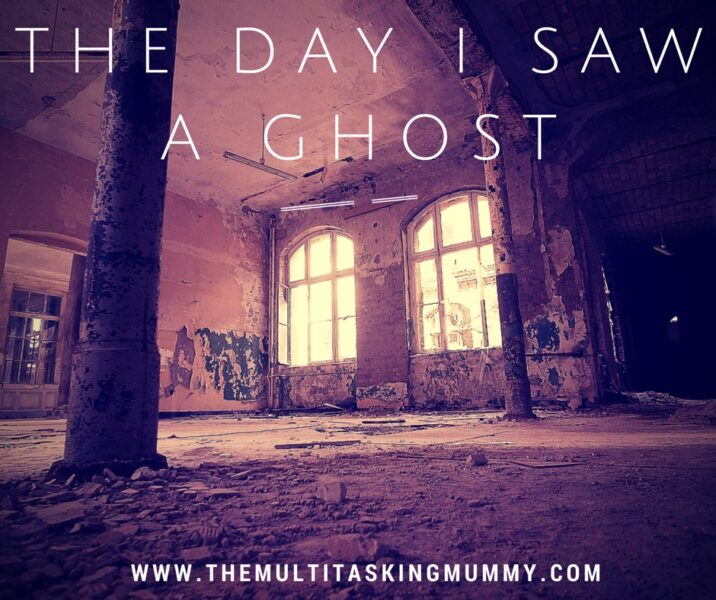 the day i saw a ghost