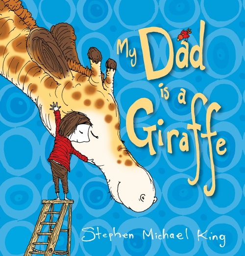 My dad is a giraffe kids picture book