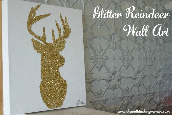 glitter-reindeer-christmas-wall-art-pinterest
