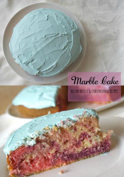 Bellini Intelli Recipe Marble Cake