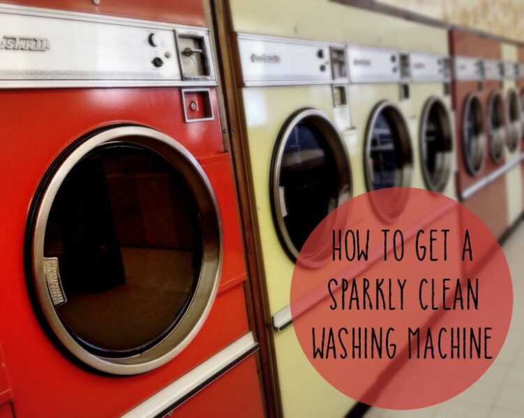 How to get a sparkly clean washing machine