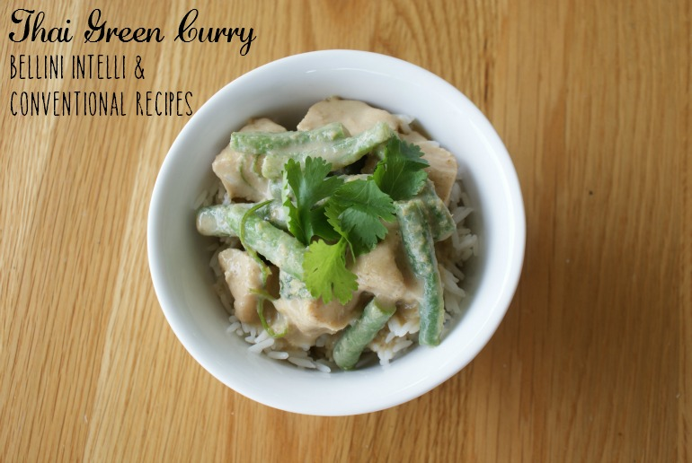 Thai Green Curry Bellini Intelli Recipe + Conventional