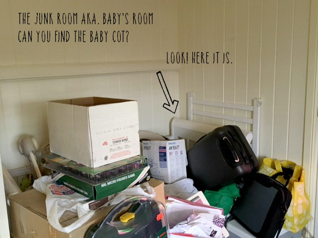 the junk room