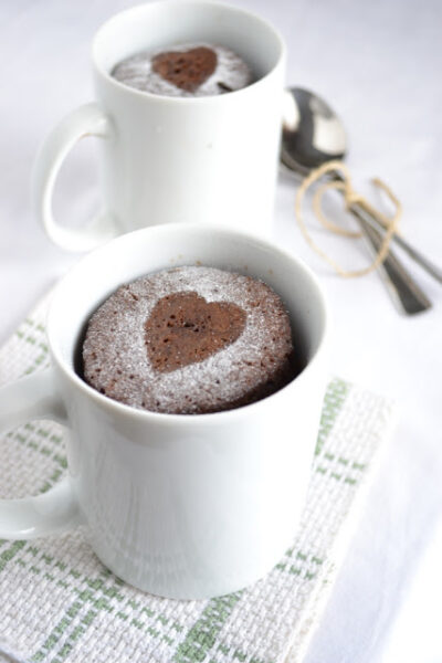 Espresso Chocolate Cake in a Mug