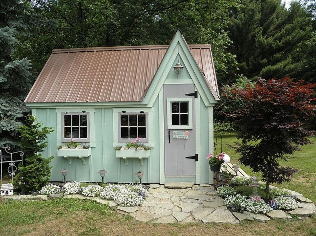 she shed cottage