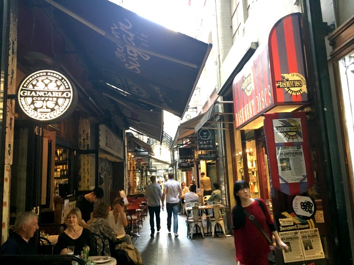 Block Laneway Melbourne