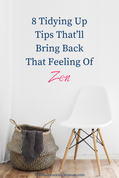 tidying up tips