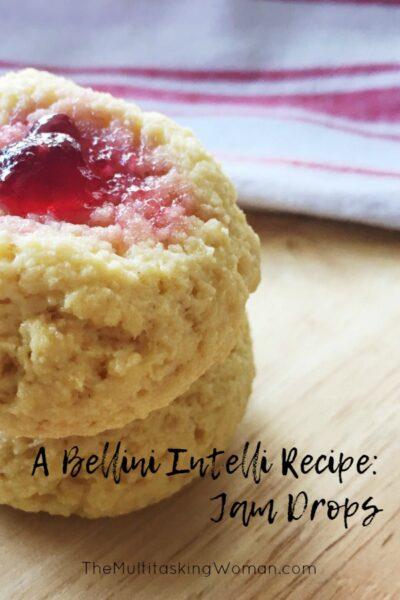 Bellini Intelli Recipes - Jam Drop Biscuits