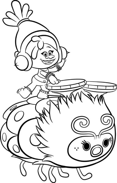 Poppy Troll Coloring Coloring Pages Troll Coloring Pages