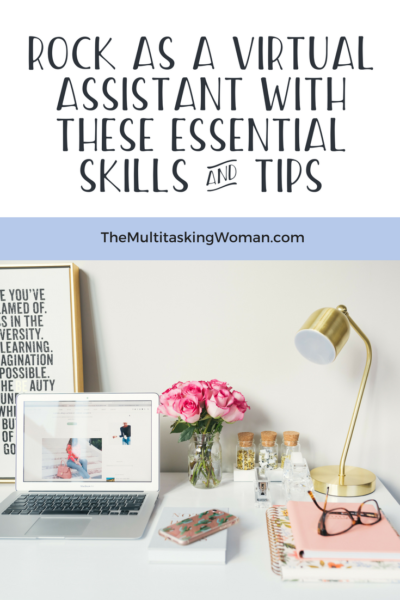 Virtual assistant skills pinterest