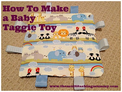 How to make a baby taggie toy