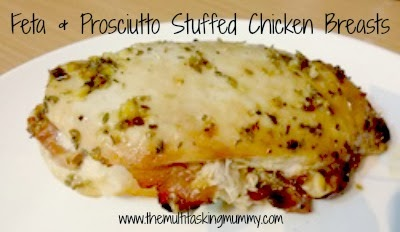 Feta and Prosciutto Stuffed Chicken Breasts