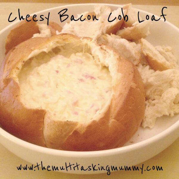 cheese and bacon cob loaf recipe