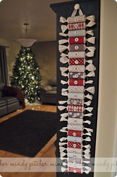 toilet roll countdown calendar