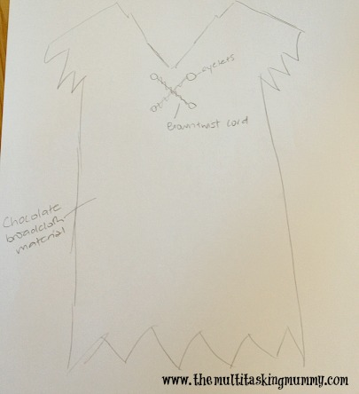 DIY Barney Rubble Costume
