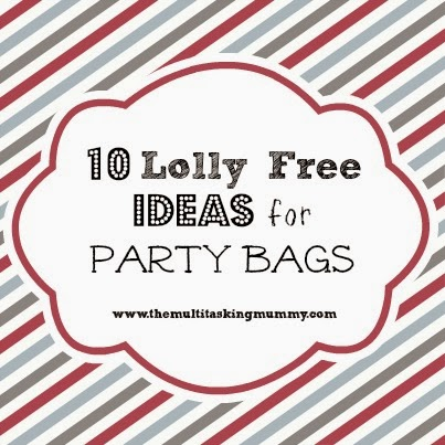 lolly free party bag ideas