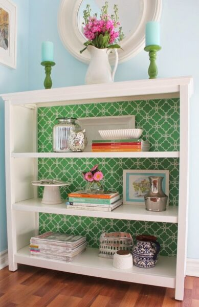 DIY-bookcase-makeover