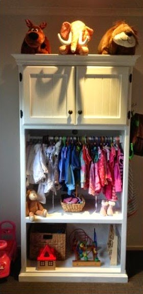 Upcycle-TV-cabinet-to-a-kids-wardrobe