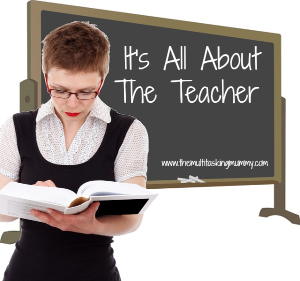it's all about the teacher