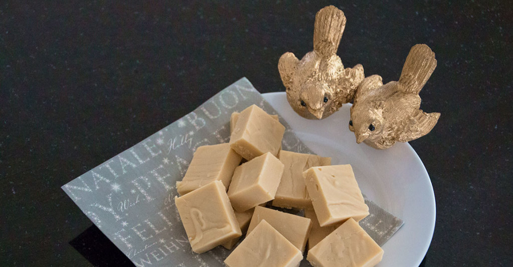 Baileys and White Choc Fudge