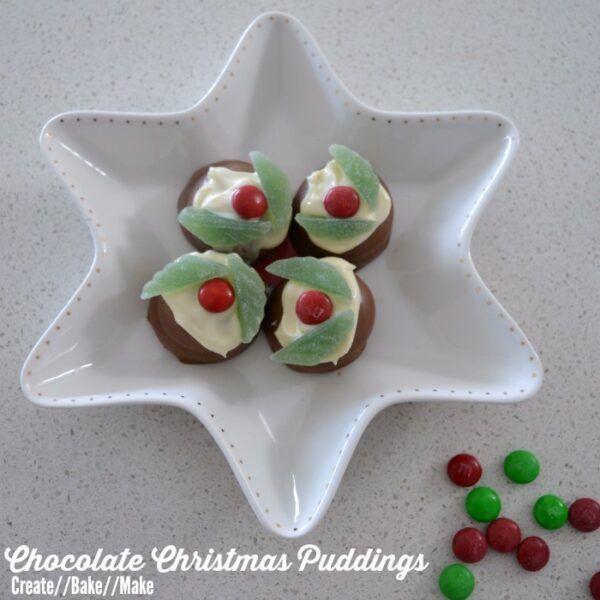 Chocolate Christmas Puddings