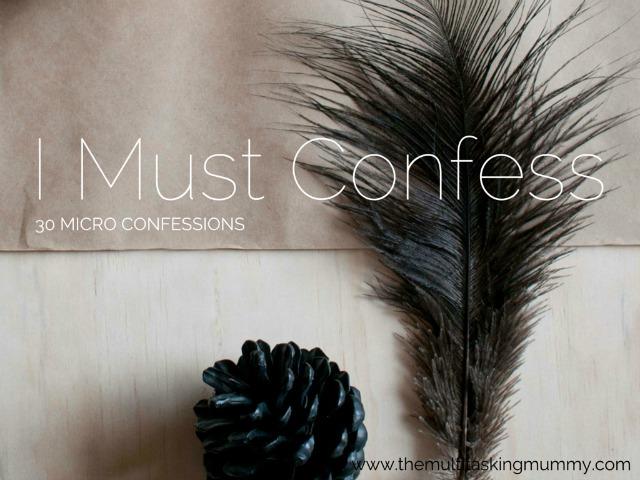 micro confessions