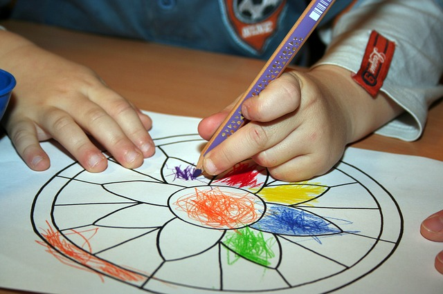 child colouring