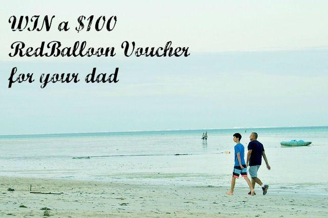 win a redballoon voucher