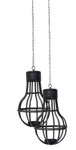 Hanging Candle Light Bulb Pendant (2)