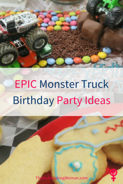 Epic Monster Truck Birthday Party Ideas