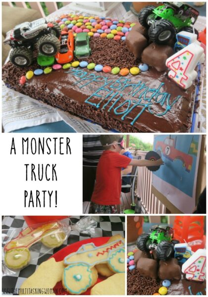 How to throw a Monster Truck Party!