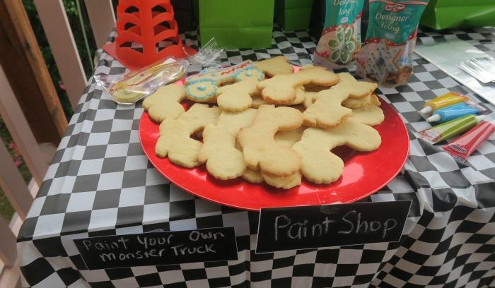 Monster Truck Cookies Paint Shop