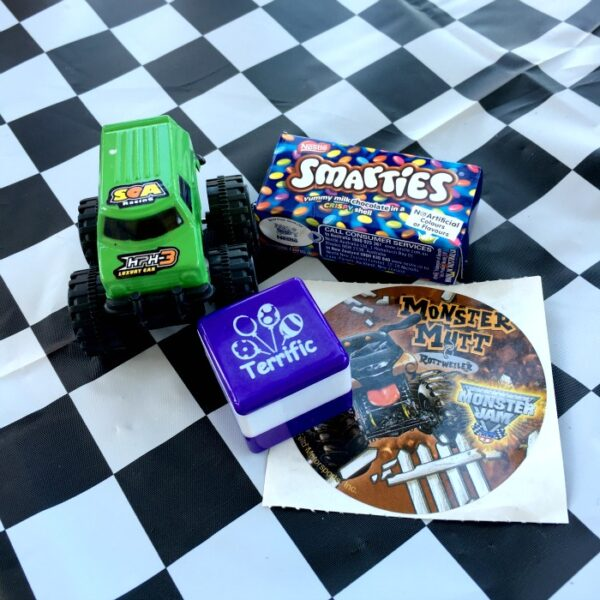 Monster Truck Party Loot Bag
