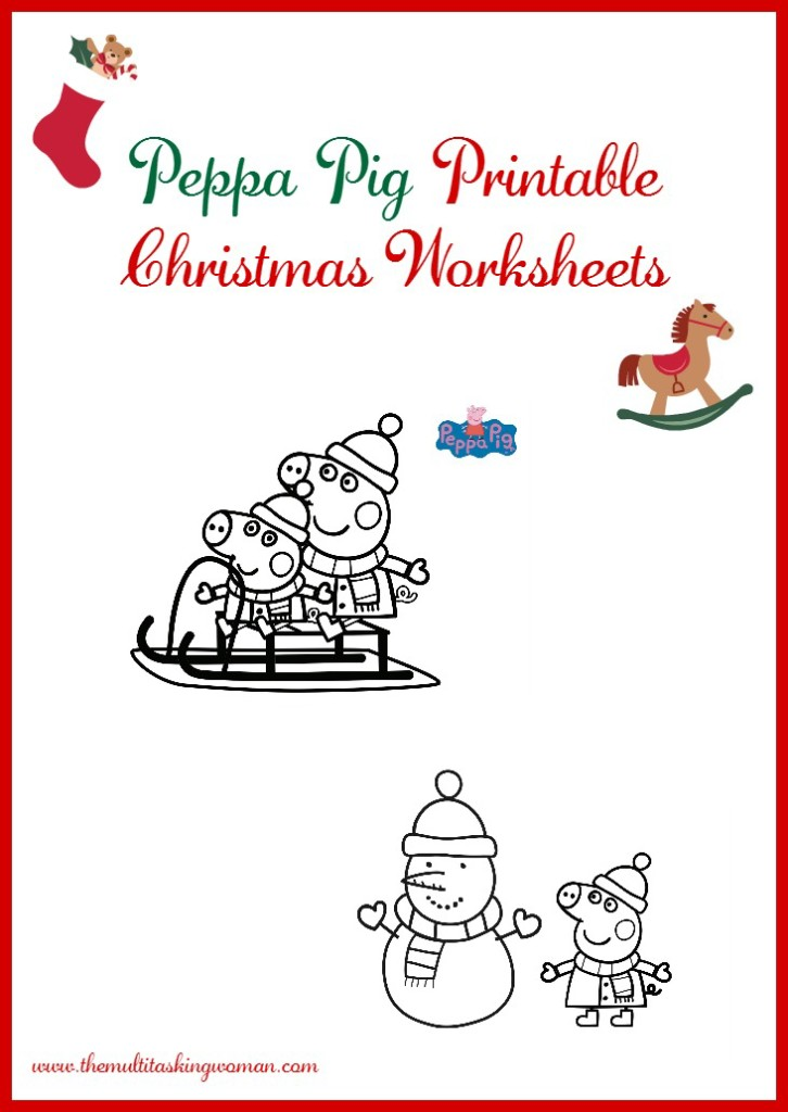 Peppa Pig Christmas Printables
