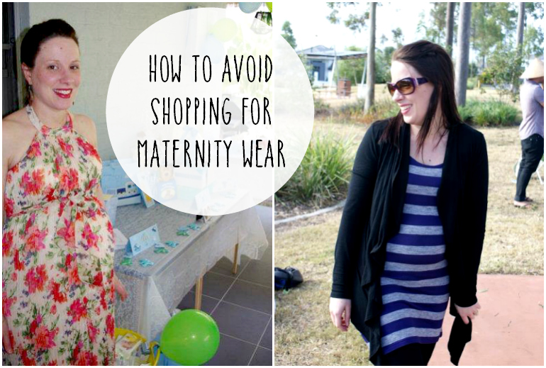 How to avoid shopping for maternity wear pin